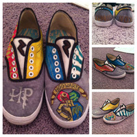 Custom handmade Harry Potter Shoes