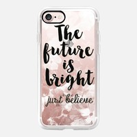 The Future is Bright II iPhone 7 Capa by Li Zamperini Art | Casetify