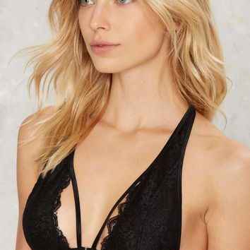 Nasty Gal A Day to the Racerback Bra Top