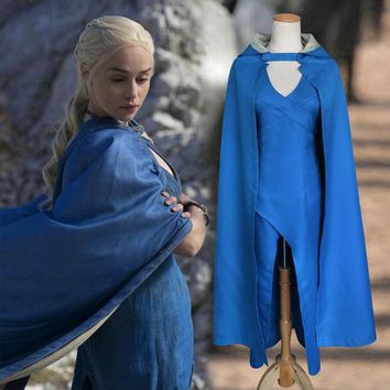 PEAPIX3 Halloween Costume Game Of Thrones Anime Cloak Hats Daenerys Costume [9211561412]