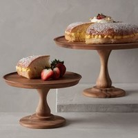 Acacia Cake Stand by Anthropologie