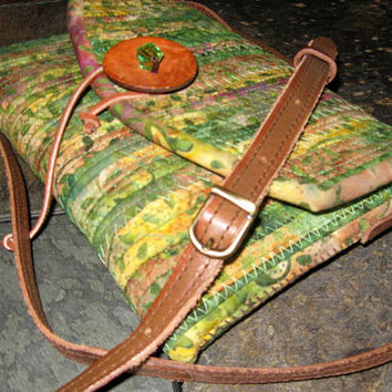 Small Crossbody Bag - Small Purse - Adjustable Leather Shoulder Strap
