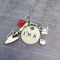 Pretty Little Liars I'm A Necklace - Pretty Little Liars Jewelry - PLL Jewelry - Fandom Jewelry