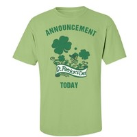 It's St Patrick's day today: Creations Clothing Art