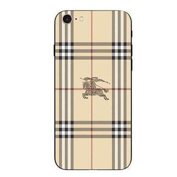 One-nice™ Perfect Burberry Fashion Print iPhone Phone Cover Case For iphone 6 6s 6plus 6s-plus 7 7plus