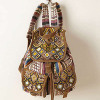 Anthropologie - Beaded Otilda Backpack