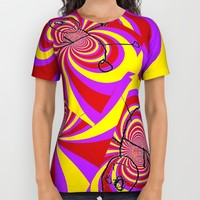 Run All Over Print Shirt by frelisafabulous