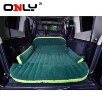 Only Mobile Inflation Travel Thicker Back Seat Cushion Air Bed for SUV