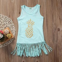 Fringe Pineapple Dress
