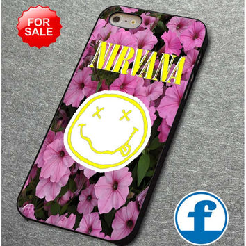 nirvana flower for iphone, ipod, samsung galaxy, HTC and Nexus Phone Case