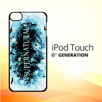all supernatural LOGO Y0297 iPod Touch 6 Case