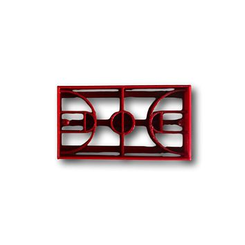Basketball Field Cookie Cutter