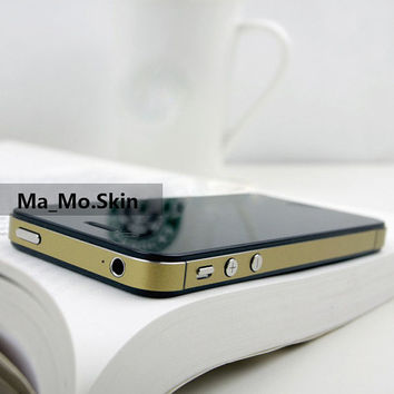 Gold  Yellow  Blue Green ColorIphone 5/4S/4 Decal by MaMoLIMITED