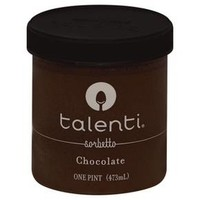 Talenti Chocolate Sorbetto Gelato Ice Cream 16 oz