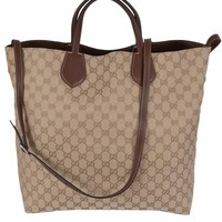 Gucci large capacity diagonal bag