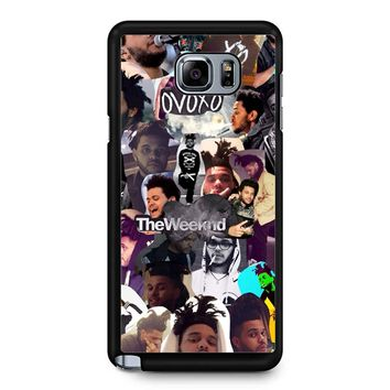 The Weeknd Collage Samsung Galaxy Note 5 Case
