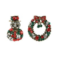 Vintage Accessory Christmas Strong Character Innovative Ring Suits [186326876186]