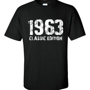 1963 Classic Edition, 50th Birthday Anniversary Over the Hill Present Gift