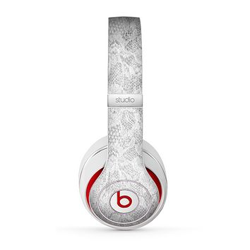 The White Textured Lace Skin for the Beats by Dre Studio (2013+ Version) Headphones