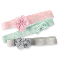 3-Pack Stretch Head Wraps