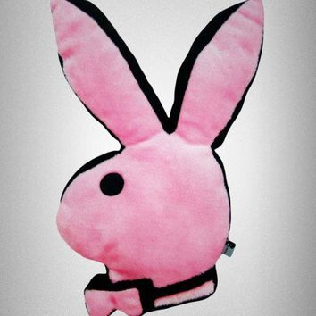 Playboy Bunny Pink Plush Pillow | Novelty | For The Home | Playboy