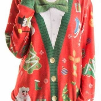 Mr. Rodgers Tacky Ugly Christmas Sweater FINAL SALE!