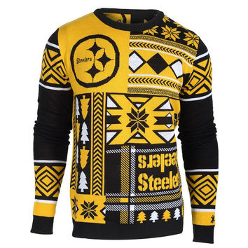 "Pittsburgh Steelers Official NFL Men's ""Ugly Sweater"""
