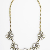 ModCloth Statement Sugar and Ice Necklace