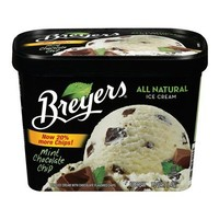 Breyers All Natural Mint Chocolate Chip Ice Cream 48-oz.