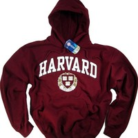 Harvard Shirt Hoodie Sweatshirt University T-Shirt Business Law Clothing Apparel Large