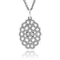 PANDORA Shimmering Lace Necklace