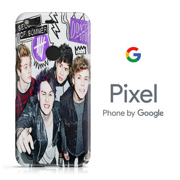 5SOS Don't Stop Google Pixel Phone 3D Case