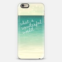 what a wonderful world iPhone 6 case by Sylvia Cook | Casetify