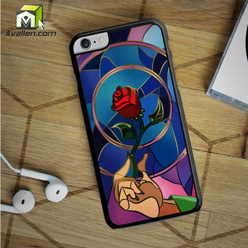 Beauty and Beast iPhone 6S Plus case by Avallen