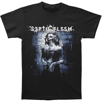 Septic Flesh Men's  Mystic Places Of Dawn T-shirt Black