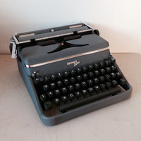 Hermes 2000 Typewriter A Great Working Typewriter Portable Typewriter