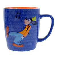 Disney Parks Goofy Personality Ceramic Coffee Mug New