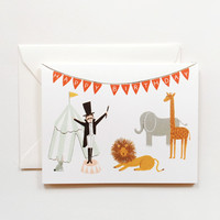 Rifle Paper Co. - Circus Birthday Card