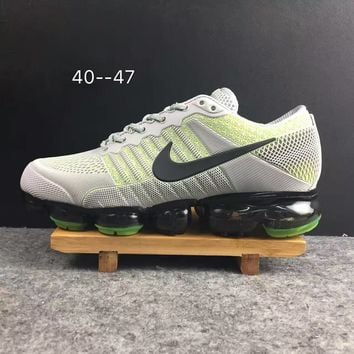 2018 Nike Air VaporMax cdg Airmax Gray/Green Sport Shoe US8-13