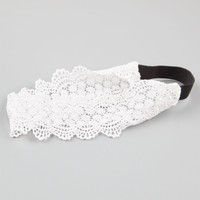 FULL TILT Wide Lace Headband 251545150 | Hair Accessories