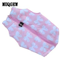 2017 pet dog clothes waterproof outfit
