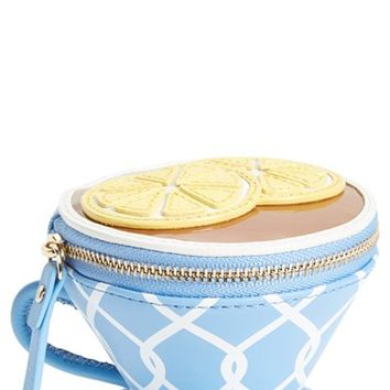 kate spade new york 'tea cup' leather coin purse   Nordstrom