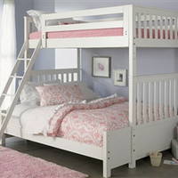 Arielle Twin Over Full Bunk Bed Set