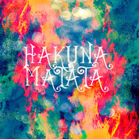 Hakuna Matata Painted Clouds Art Print by Caleb Troy | Society6