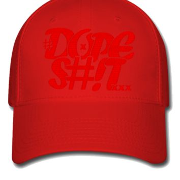 dope shit red Snapback,Hat - Flexfit Baseball Cap