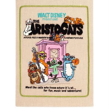 Aristocats Embroidered Felt Clutch - OLYMPIA LE-TAN