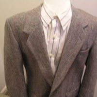 "Dunn & Co. Harris Tweed Jacket Size 44"" Chest"