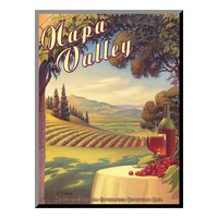 Art.com ''Napa Valley'' Wood Wall Art (Green)
