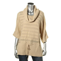United States Sweaters Womens Metallic Elbow Sleeves Pullover Sweater