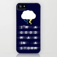 Greys Anatomy: Good Man In A Storm iPhone & iPod Case by drmedusagrey